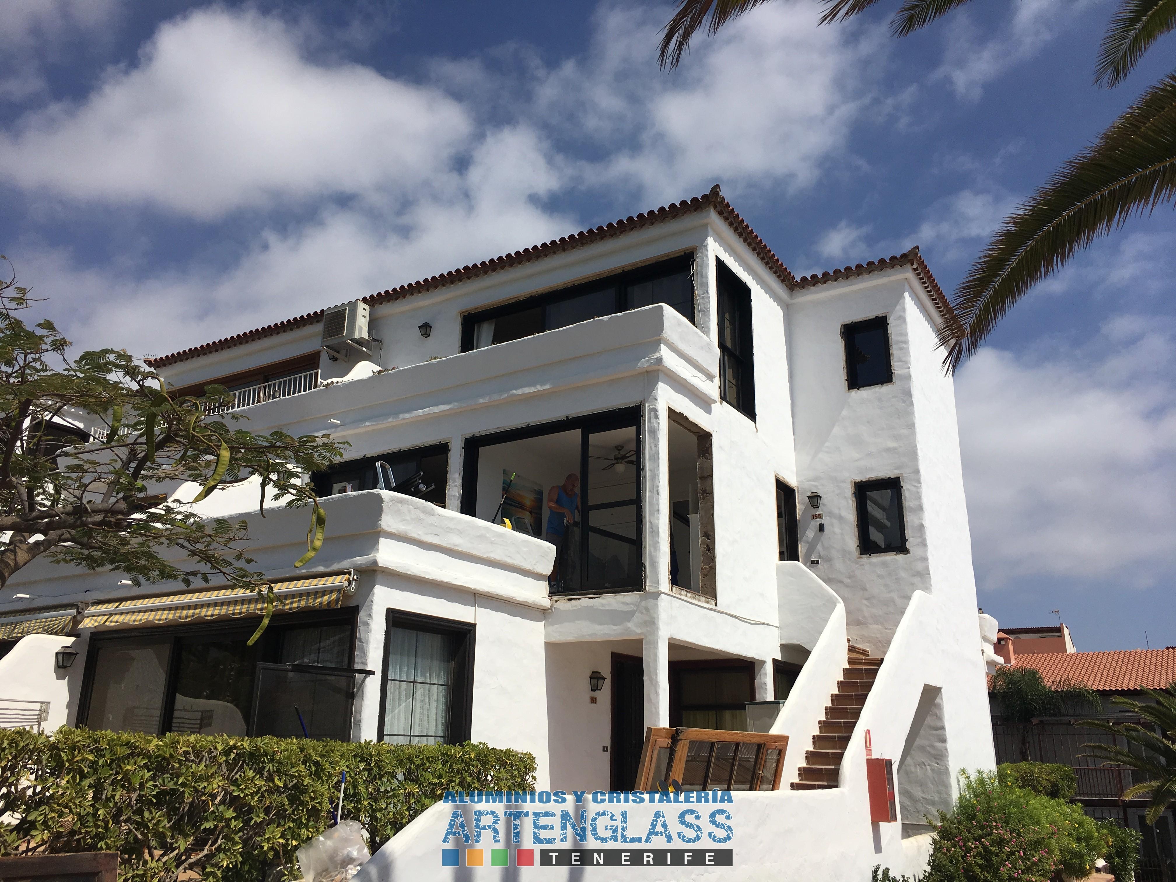Cambio de Puertas y Ventanas de aluminio en Tenerife