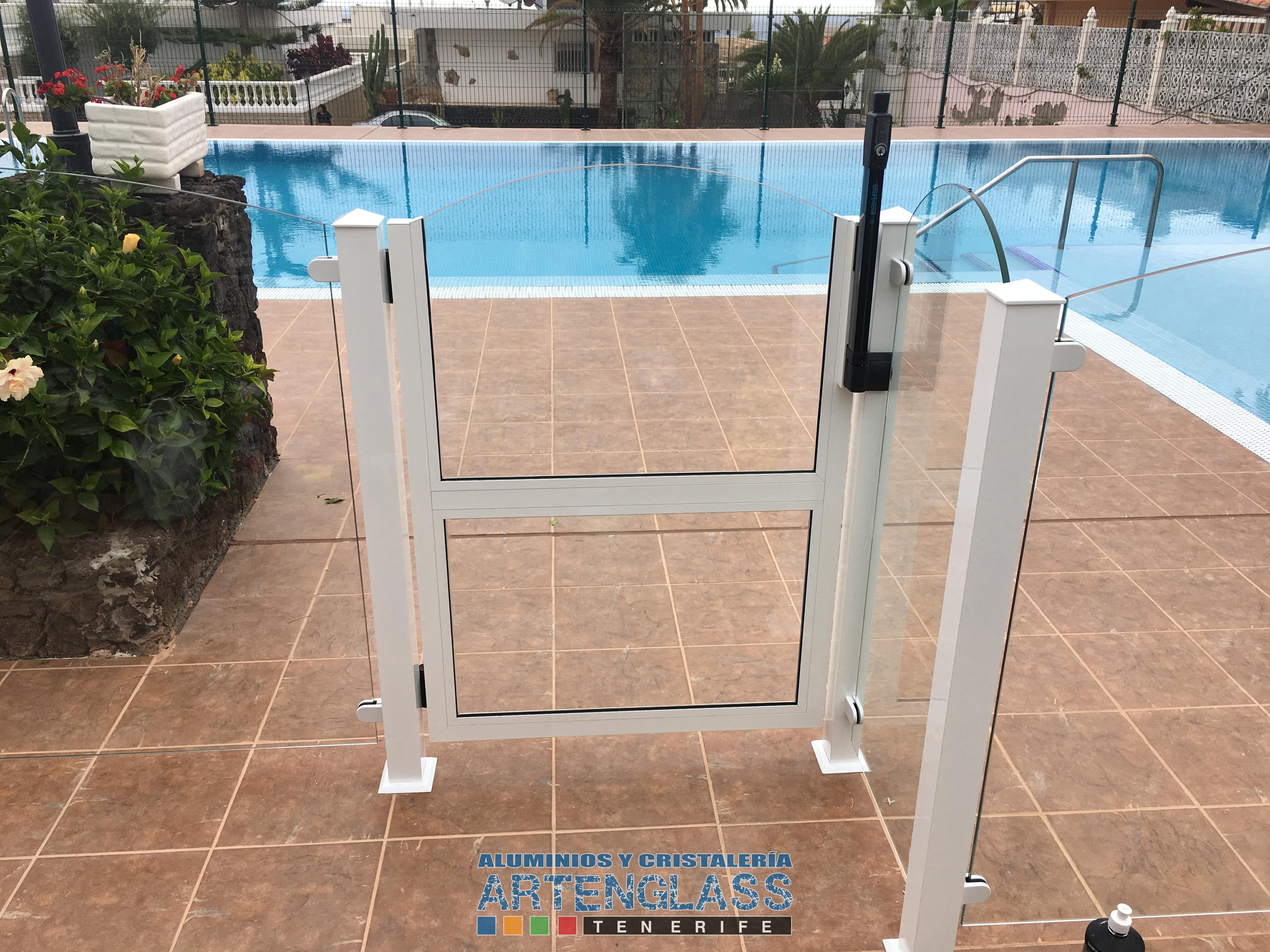 Vallado de piscinas en Tenerife