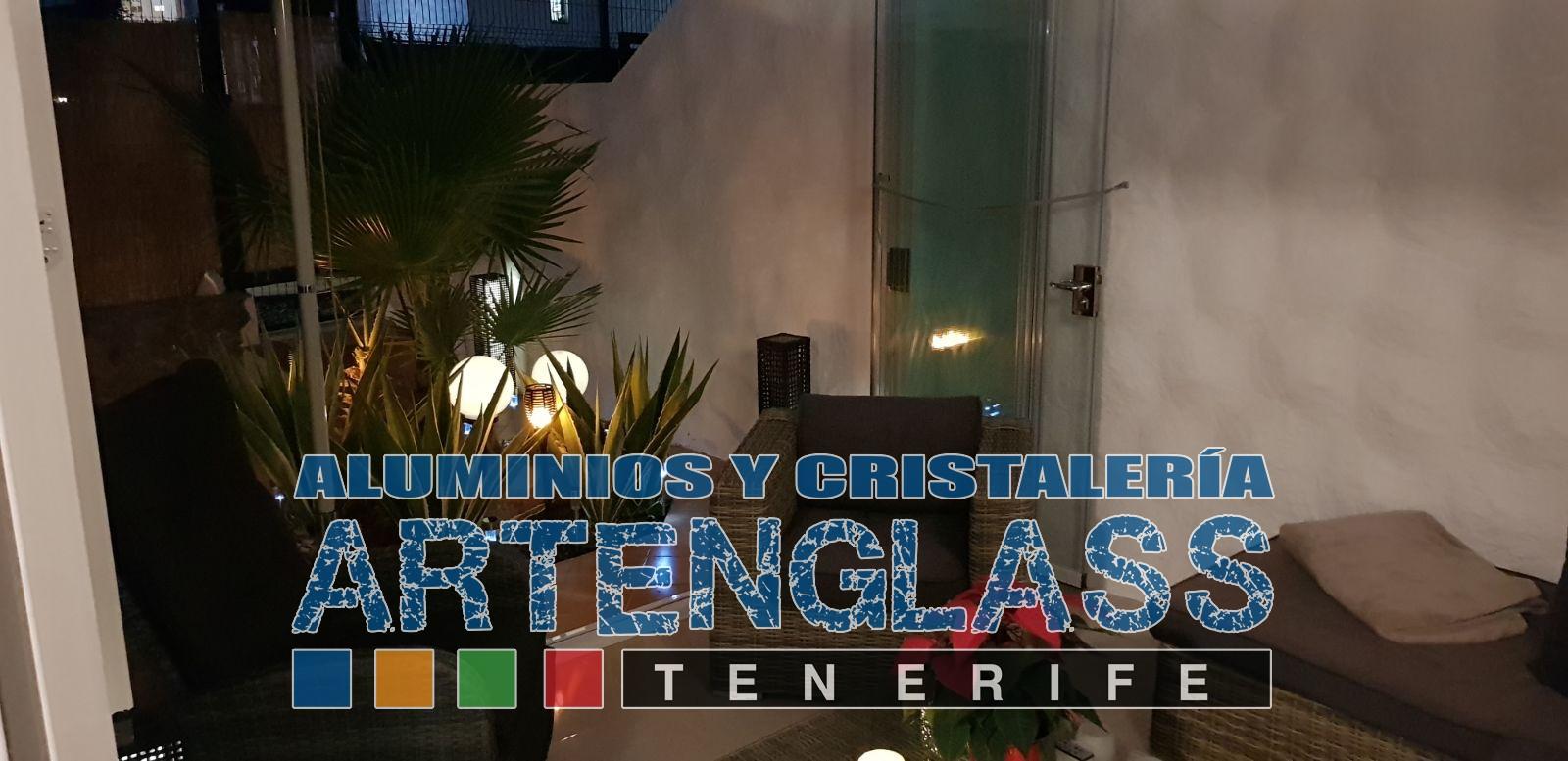 Cerramiento de terraza en Tenerife